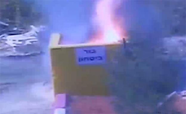 פיצוץ מיטען (צילום: חדשות 2)