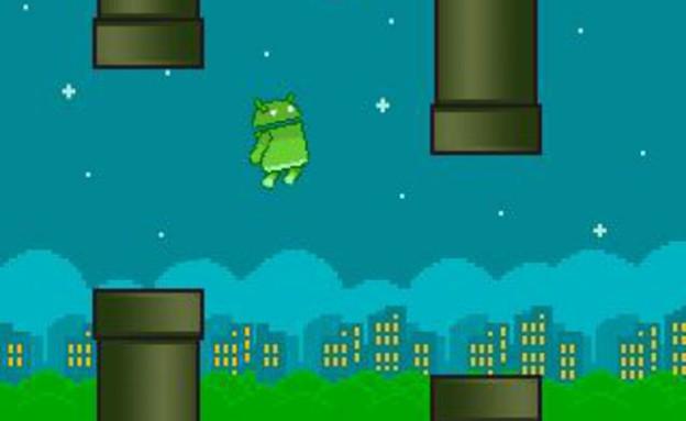 המשחק הראשון לשעונים של גוגל, FlopsyDroid