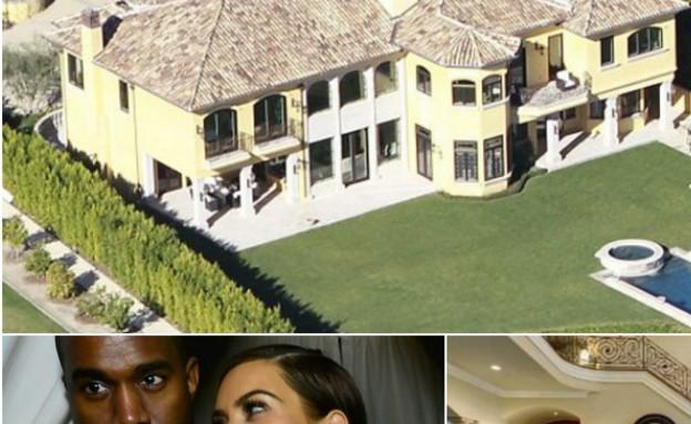 הבית החדש של קים וקניה למכירה (צילום: Eugene Gologursky, GettyImages IL)