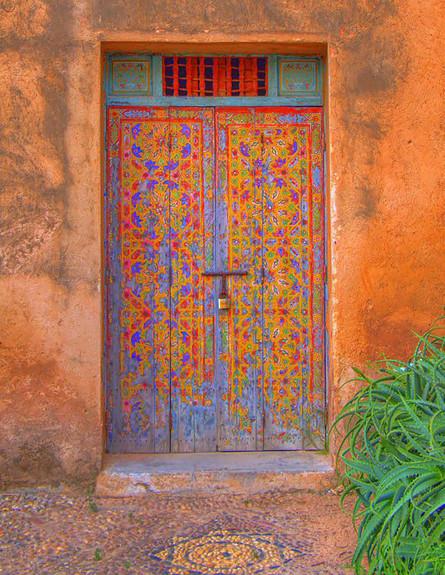 דלתות, פס מרוקו, צילום David K. Edwards