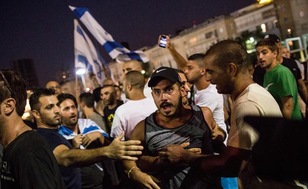 הפגנה בתל אביב 12.7 (צילום: Andrew Burton, GettyImages IL)