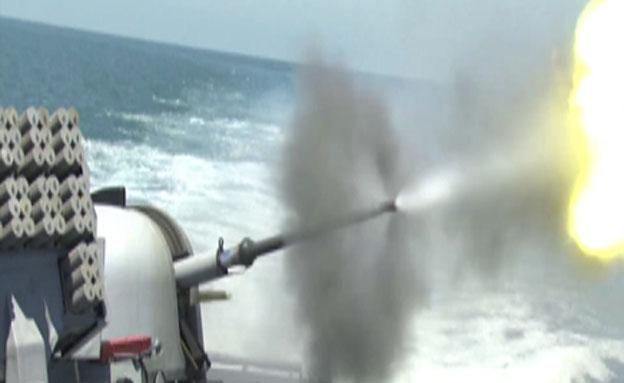 """צפו: לוחמי חיל הים בפעולה (צילום: דובר צה""""ל)"""