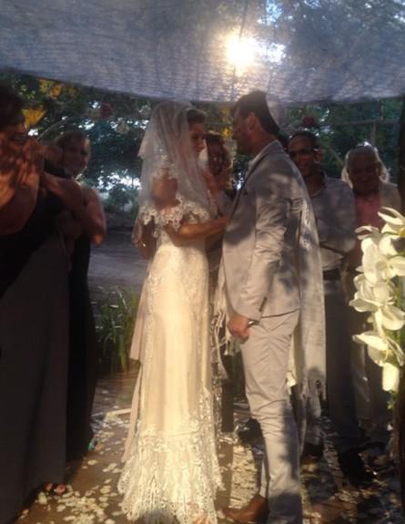 חתונה עדי הימלבלוי (צילום: צ'ינו פפראצי)