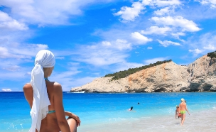 כרתים, חוף ים (צילום: Netfalls - Remy Musser, Shutterstock)