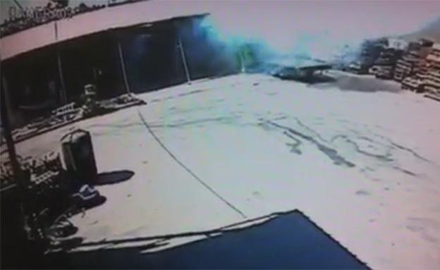 תיעוד: פגיעה ישירה במועצה האזורית אשכול
