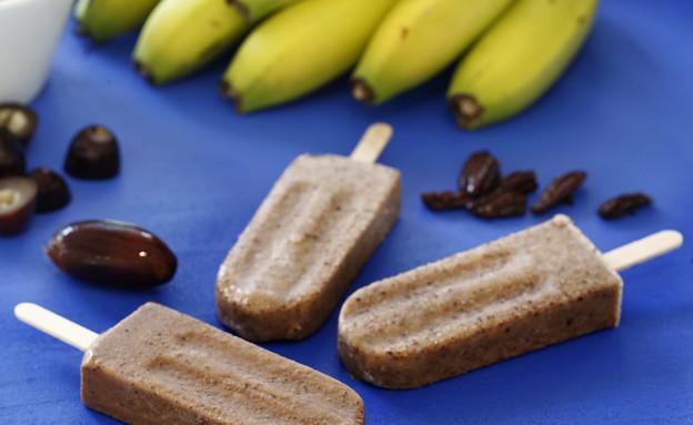 ארטיק בננה-תמר ופקאן . בריא, טרי ומרענן (צילום: אפיק גבאי, אוכל טוב)