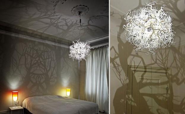 מנורות ונברשות, נברשת יער  (צילום: www.hildendiaz)