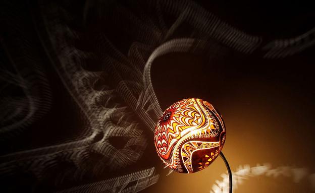 מנורות ונברשות, אפריקני (צילום: www.calabarte)