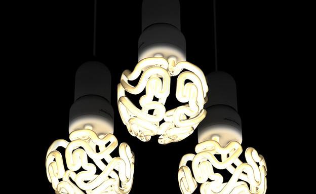 נרות ונברשות, נורת מוח (צילום: solovyovdesign.by)
