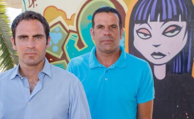 ויקו אטואן ותמיר סטיינמן (צילום: אנצו גוש)