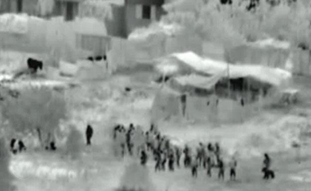 """כניסת כוחות צה""""ל לרצועת עזה (צילום: חדשות 2)"""