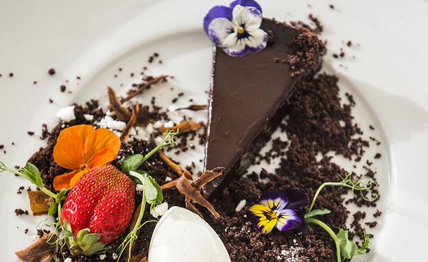 פאי שוקולד של מסעדת פיצרוי (צילום: בן יוסטר, על השולחן)
