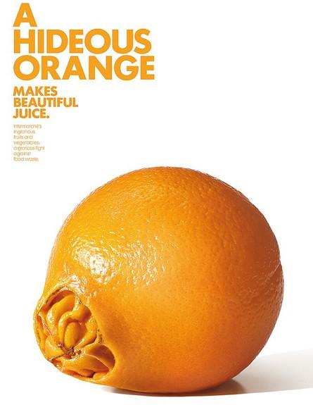 תפוז מכוער (צילום: Intermarché)