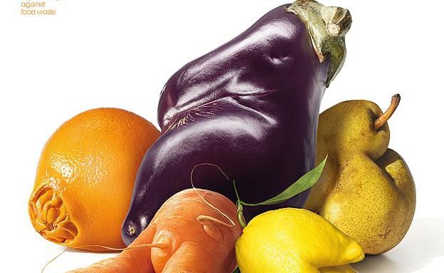 ירקות ופירות מכוערים (צילום: Intermarché)