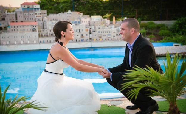 חתונה במיני ישראל (צילום: גדי סיארה )