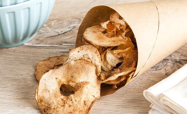 צ'יפס תפוחי עץ מהיר (צילום: אסף אמברם, אוכל טוב)