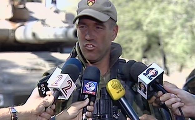 צפו בדבריו של מפקד החטיבה (צילום: חדשות 2)