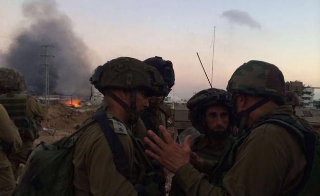 """הלוחמים בשטח, היום (צילום: דובר צה""""ל)"""