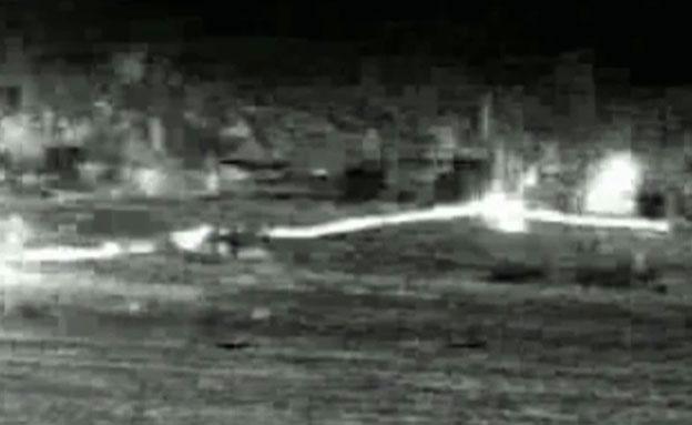 פיצוץ מנהרת טרור ברצועת עזה (צילום: חדשות 2)