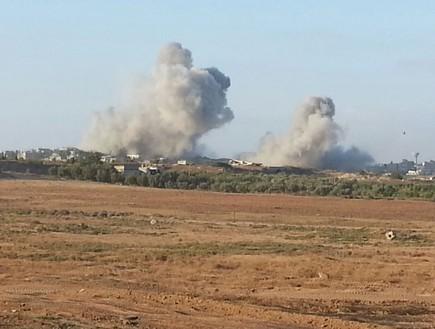 הפצצות שריון ברצועת עזה