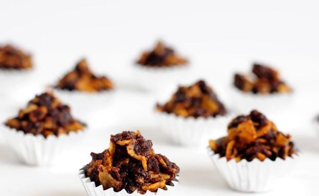 עוגיות קורנפלקס ללא אפייה (צילום: שרית נובק - מיס פטל, אוכל טוב)