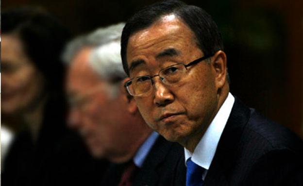 """מזכ""""ל האו""""ם: """"לעצור הלחימה"""" (צילום: רויטרס)"""