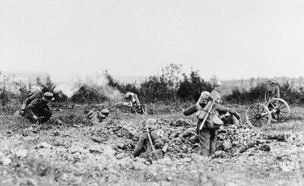 לוחמים במלחמת העולם הראשונה (צילום: AP)