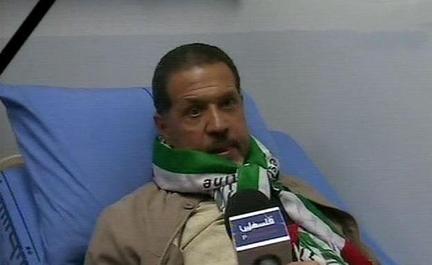 יאסר עבאס בנו של אבו מאזן (צילום: חדשות 2)