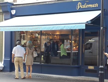 מסעדת פלומר, לונדון - מבחוץ