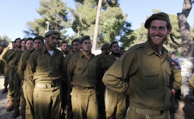 חייל חרדי צילום גטי (צילום: Lior Mizrahi, GettyImages IL)