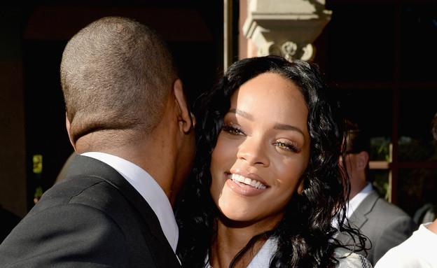 ריהאנה וג'יי זי  (צילום: Larry Busacca, GettyImages IL)