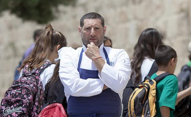 אוטואוכל של אסף גרניט (צילום: חנן בן אסולין)