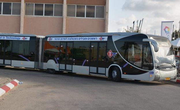 דגם האוטובוס שיופעל בקו