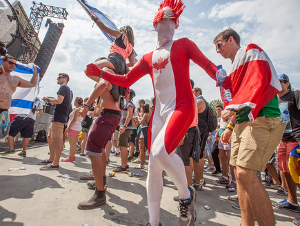 פסטיבל טומורולנד 2014 (צילום: עידו קליר)