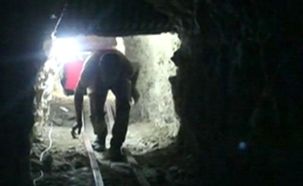 מנהרה בסוריה (צילום: חדשות 2)