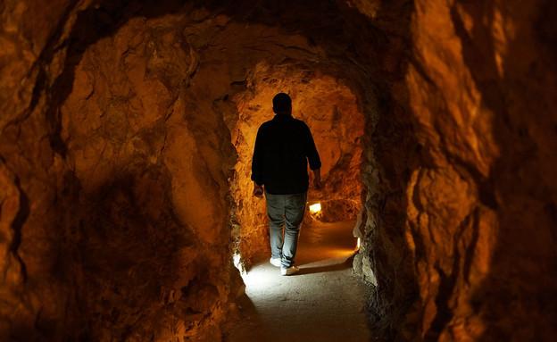 מנהרה של חיזבאללה במוזיאון המלחמה (צילום: Spencer Platt, GettyImages IL)