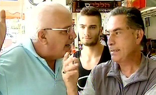 גדעון לוי (צילום: חדשות 2)