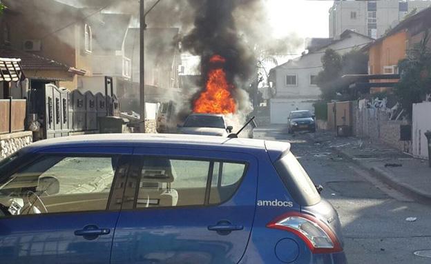 """""""פחדתי שהרכב יתפוצץ"""" (צילום: רפאל חיון)"""