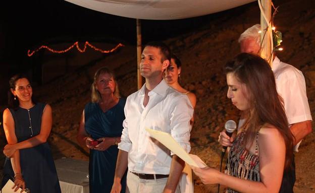 החתונה של דולב ויפעת (צילום: איל גורביץ)