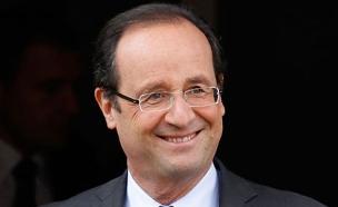 נשיא צרפת פרנסואה הולנד (צילום: AP)
