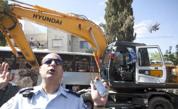 פיגוע הטרקטור בירושלים (צילום: Lior Mizrahi, GettyImages IL)