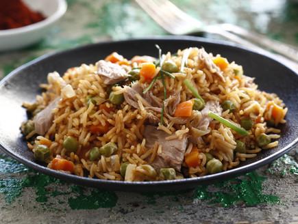 אורז אפונה וגזר עם טונה (צילום: אפיק גבאי, אוכל טוב)