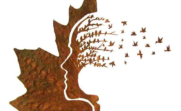 גילוף עלים (צילום: אומיד אסדי)