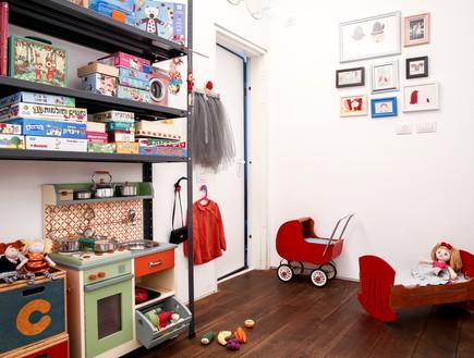 חדרי ילדים, מעצבת סטפני גריב בשיתוף סנדרה אלבז להיה היה