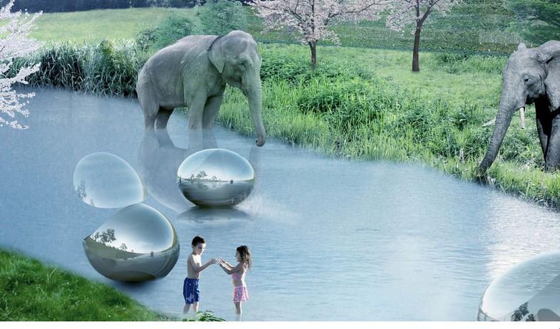 גן חיות, דנמרק, פילים (צילום: BIG-BJARKE INGELS GROUP)
