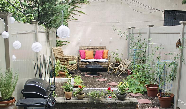 חצר בברוקלין, גובה, צילום Alyssa Ponticello-Levine (צילום: Alyssa Ponticello-Levine)