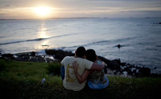 אהבה בלתי אפשרית בברזיל (צילום: AP)