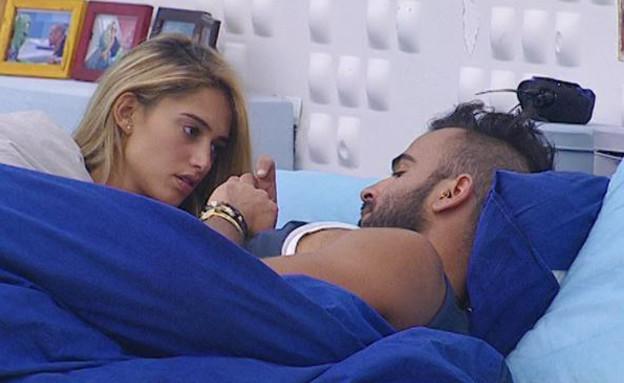 דנית ואליאב במיטה (תמונת AVI: אורטל דהן, שידורי קשת)