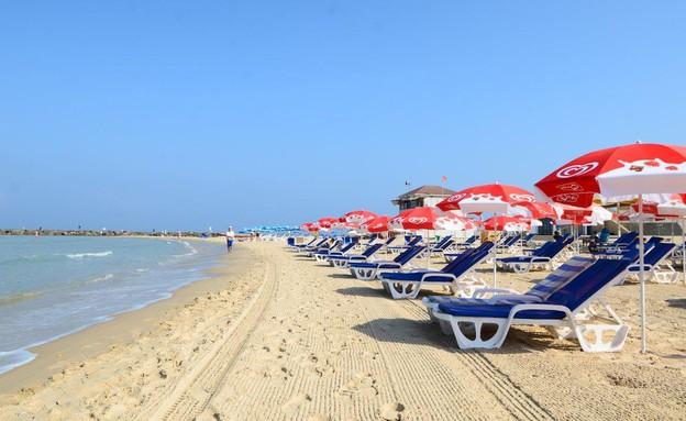 חוף הים סירונית (צילום: פלג אלקלעי)