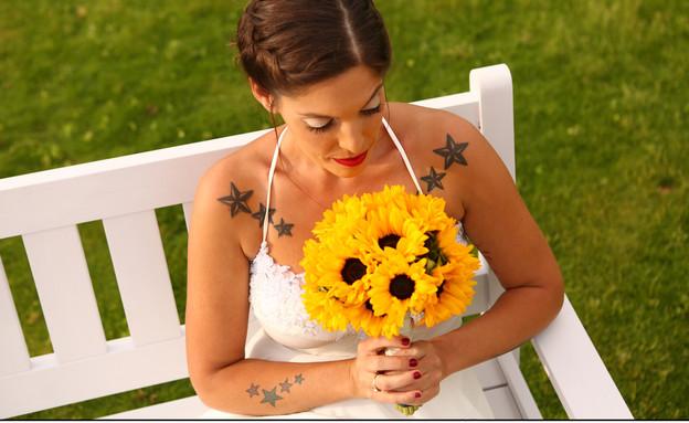 חתונה בקיבוץ (צילום: חמניה צילום אירועים)